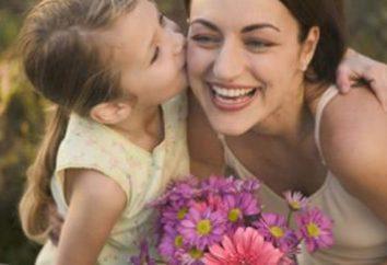 aniversário da mamã Surpresa: do que agradar um ente querido?