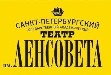St Petersburg Akademicki Teatr Leningrad Rady Miasta: repertuar, opisy i aktorzy