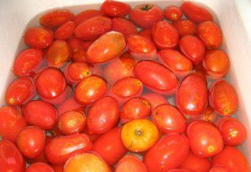 Jak zamrażać pomidory w zamrażarce? Zbiorów pomidorów w zamrażarce na zimę