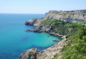 La zone de la mer Noire et ses autres caractéristiques géographiques