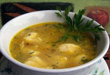 Zuppa con gnocchi – uno dei piatti più antichi