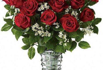 Segreti di floristica: portare un mazzo di belle rose