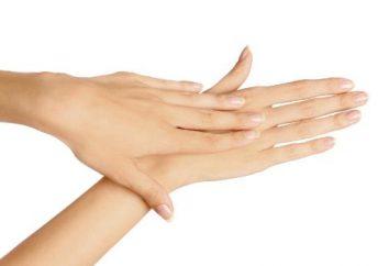 Crème hydratante pour les mains pour les peaux très sèches