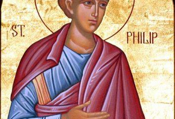 Święty Apostol Filipp. Życie apostoła Filipa