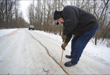 ¿Por qué hay una profundidad diferente de la congelación del suelo en la región de Moscú?