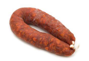 Chorizo: gustoso, insolito e variegato. Chorizo – che tipo di salsiccia