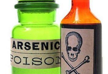 Il grado di ossidazione dell'arsenico: arsenico Proprietà chimiche