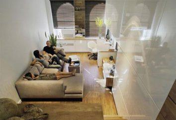 Come creare un design elegante piccolo appartamento – sei punte