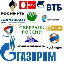 Duże przedsiębiorstwa Rosji. przedsiębiorstw przemysłowych w Rosji