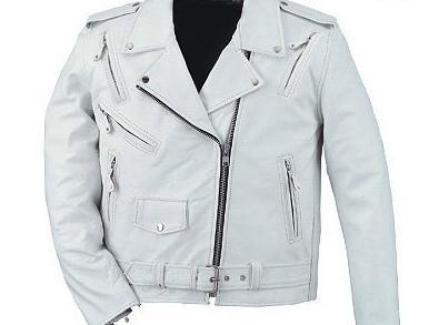 Como lavar una chaqueta de cuero blanca