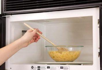 Comment faire cuire les pâtes dans un four à micro-ondes: les secrets, conseils, recettes