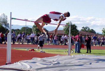 Der Weltrekord im Hochsprung für Männer und Frauen
