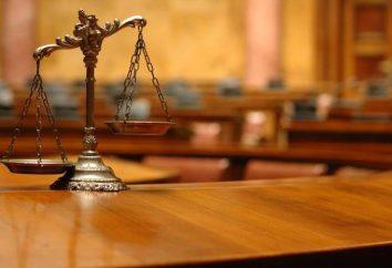 Sądowa funkcją oddział i koncepcji. Funkcje sądownictwa w Federacji Rosyjskiej
