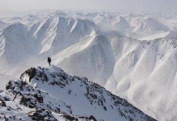 Chukchi Plateau – le bord des collines de montagne et les lacs profonds