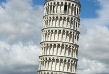 Pourquoi est incliné Tour de Pise? La hauteur de la tour penchée de Pise