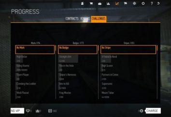Warface: no jogo realizações