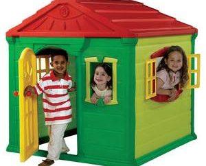 Escolha casas para crianças: produtos plásticos – a melhor opção