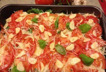 Che si applicano per la tabella di festa? Cottura della carne in francese con patate e pomodori
