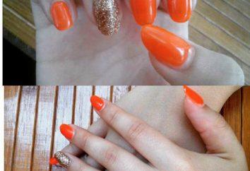 manicure Laranja: belas idéias para iniciantes e profissionais