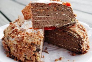 Jak prigotovit ciasto wątroby: niektórych odmian receptur