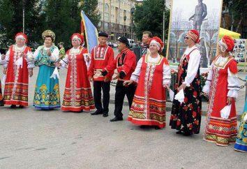 Die Bevölkerung von Tjumen – eine große Industriestadt in Sibirien