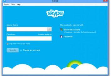 """""""Registro não é possível por causa de erros de dados"""" (Skype): o que fazer?"""