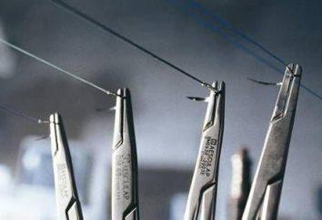 suture riassorbibili: tipi, il tempo di guarigione