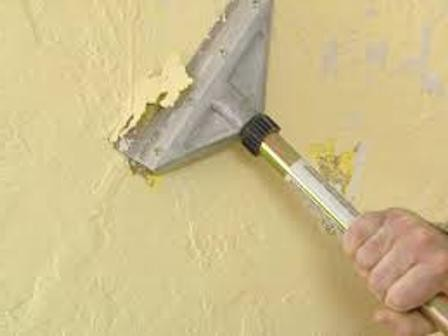 rimozione della vecchia vernice dalle pareti: metodi e strumenti