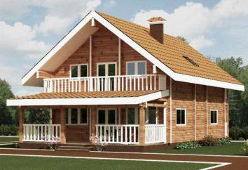 Maison 6 6. maisons de disposition de bois