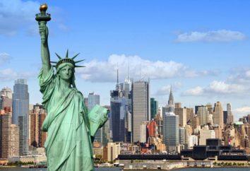 USA: kleine und große Städte. Amerika: Geisterstädte
