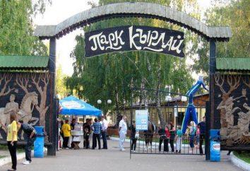 Vacances dans la ville de Kazan. Parc manèges « Kyrlay »