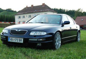 "Przegląd ""Mazda Ksedos 9"" samochód"