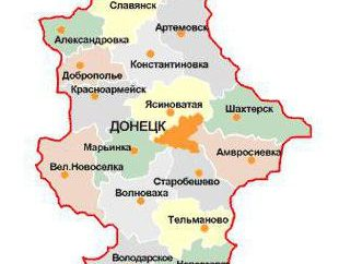 Nikolaevka, Ukraine. Das Dorf Nikolaevka, Ukraine – Karte