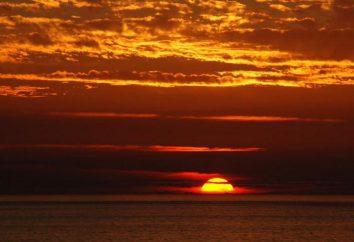 Lo que una puesta de sol sueño? Interpretación de los sueños: rojo atardecer, puesta de sol sobre el mar