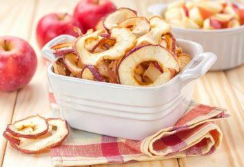 Jaka jest wartość kaloryczna suszonych jabłek