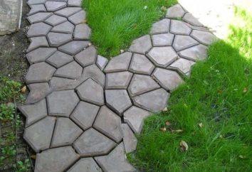 Formularz do ścieżek ogrodowych: tworząc swój własny, niepowtarzalny element architektoniczny