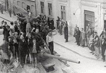 A libertação de Belgrado dos nazistas, em 1944