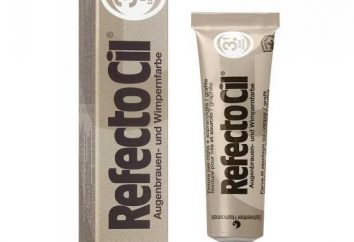 Refectocil – para pintar las cejas y las pestañas. Los comentarios, paleta de instrucción y precio