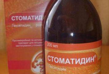 """Lek """"Stomatidin"""": Instrukcja obsługi, opis, analogi"""
