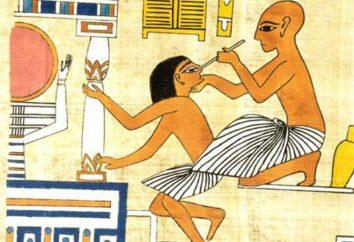 Starożytny egipski medycyna Chin i Indii. Historia medycyny