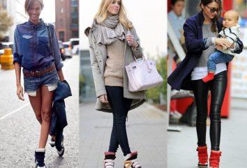 chaussures – wedges contradictoires espadrilles. De quoi porter?