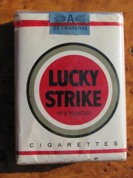 cigarettes lucky strike types et critiques. Black Bedroom Furniture Sets. Home Design Ideas