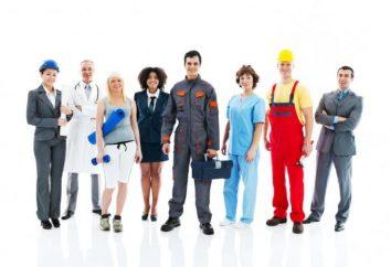 Os tipos de emprego e sua descrição. Tipos de trabalho e profissões