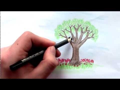 bäume zum zeichnen