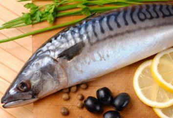 Makrele mariniert: verfügt über Kochrezepte. Marinade für Makrele in würziger Sole