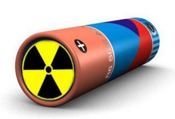 bateria nuclear e o princípio da sua operação