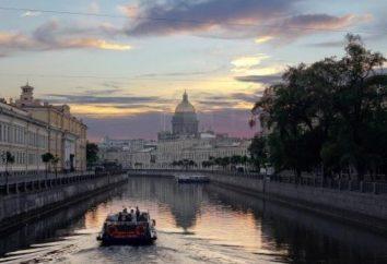 Gehen auf eine Reise, wenn in St. Petersburg weiße Nächte