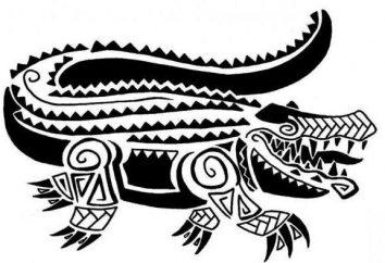 """Tatuaż """"Polynesia"""" – szkice i konkretne techniki wykonawcze"""