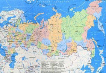 Geographische Lage Russland: Eigenschaften, Karte und Charakterisierung