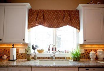 Cortinas para cozinha: escolha um tecido, design, cor